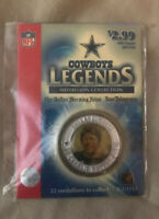 DALLAS COWBOYS LEGENDS MEDALLION CHARLIE WATERS, DB #41 NEW IN PACKAGE