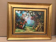 James Coleman Disney art Poohs Afternoon Nap Giglee on canvas #27 of 195 #36