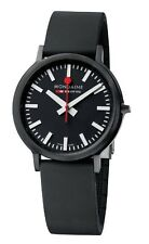 MONDAINE Swiss Railways Watch - Stop2go 41mm PVD (A512.30358.64SPB)