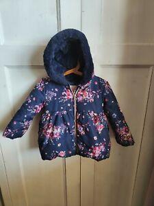 Baby Girl 18-24 Months Winter Coat