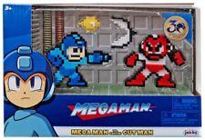 Mega Man Classic 8-Bit Blue MegaMan vs Cut Man Mini Figure 2-Pack