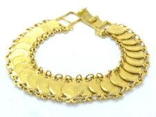 Armkette Armband Armreif bracelet 916 GOLD 22 Karat Münzen Goldmünze USA Amerika