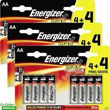 24 x Energizer AA MAX Alkaline Powerseal Batteries LR6 MN1500 MIGNON 2026 Expiry
