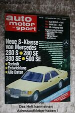 AMS Auto Motor Sport 20/79 * BMW 735i Alfa Romeo Spider 2000 Audi 80 GLE