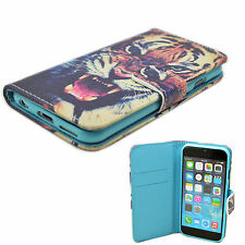 Leather Wallet Phone Case Cover Magnetic Stand Holster For Apple iPhone 6 6S
