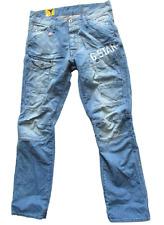 G-Star General 5620 Tapered Embro Light Jeans Men's UK Size 30W 32L *REF27-7*