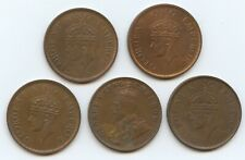 India British 1/4 Annas 1928, 1940, 1941-2 & 1942 (#1563) All uncirculated.