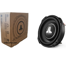 "JL AUDIO 10TW3-D4 Dual 4 Ohm 10"" SHALLOW SLIM MOUNT SUBWOOFERS 250MM 800 WATTS"