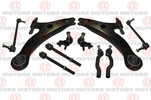 Front Control Arm Left & Right Lower Ball Joint Tie Rod Ends Fits Toyota Sienna