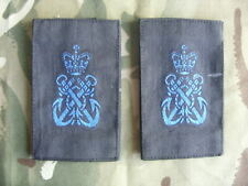 ROYAL NAVY WRNS RANK SLIDES SHIRT  HMS  PETTY OFFICER OLD STYLE
