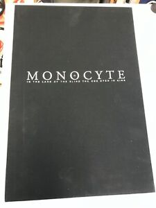 IDW MONOCYTE : IDW LIMITED HARDCOVER W/SLIPCASE : SIGNED : #AP/150