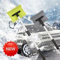 Einstellbar Schneeschieber Schneeschaufel Schneeschild Räumschaufel Aluminium DE