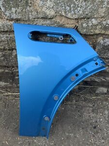 BMW Mini R53 Cooper One S Front Wing Drivers Side OS RHS Electric Blue R50