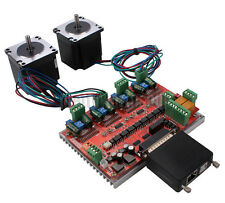 2 Axis CNC Kit Nema23 Stepper Motor Driver Mach3 Motion Control USB MPG Converte