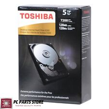 "Toshiba Internal Hard Disk Drive 5TB X300 SATA III 6Gb/s 3.5"" 7200RPM Desktop"
