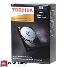 """Toshiba Internal Hard Disk Drive 5TB X300 SATA III 6Gb/s 3.5"""" 7200RPM Desktop"""