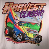 Calistoga Speedway L Harvest Classic 98 T Shirt NARC SCRA Dirt Track Racing NOS