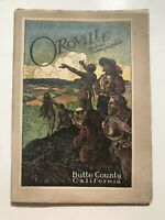 1920's Oroville California Butte County Chamber of Commerce Color Booklet