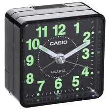 Casio Travel Quartz Beep Alarm Clock TQ140-1 (Black)