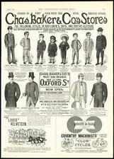 1800s Ad Reprint G Chas Merrill Job /& Card Printer
