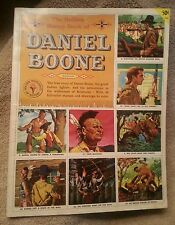 Old1955Golden Stamp Book DANIEL BOONE Kentucky Color History Hunter Complete KY1