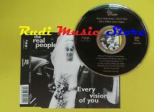 CD Singolo THE REAL PEOPLE every vision of you 1995 EGG  no lp mc dvd(S13)