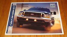 Original 2004 Ford Truck F-250 F-350 Super Duty Sales Brochure