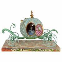 Jim Shore Disney Traditions Cinderella Pumpkin Coach Figurine - Ships Globally!