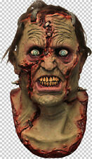 Sutured Monster Full Head and Neck Latex Mask Halloween Fancy Dress Adult