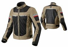 GIACCA JACKET MOTO REV'IT REVIT TORNADO 2 SABBIA SAFARI IMPERMEABILE TG S