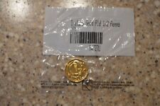 (1) IRELAND Gold PLD 1/2 Penny 1975 UNCIRCULATED Condition (A)