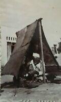 Carte Postale Casablanca Maroc Indigène Métier ancien cordonnier rare cpa