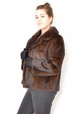US13 Mink Fur jacket coat chaqueta de vison Nerzjacke Nerz Pelzjacke ca. XL