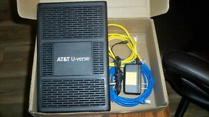AT&T U-verse Pace 5268AC  Internet Wireless Modem Router, Power Cord and Cables