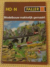 Faller  -- Modellbau Katalog  841  - Sprache Niederländisch