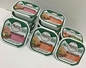 NUTRO Cuts in Gravy Stew Dog Food Lot of 13 Grain Free Assorted 3.5 0Z