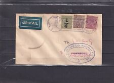 0119 India  Nice airmail cover see scan
