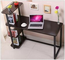 Modern Study Desk Childs Kids Student Office Pc Computer Table Wooden Bookcase