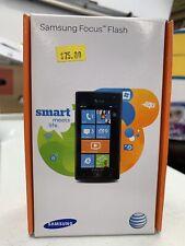 Samsung FOCUS Flash SGH-I677 - 8GB - Dark Gray (AT&T) Smartphone