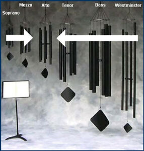 MUSIC OF THE SPHERES MEZZO WIND CHIMES (choose your tuning!)