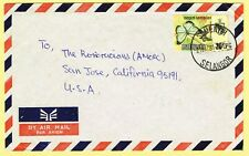 1981 cover franked 20c rate tied SEMENYIH, SELANGOR cds to USA.