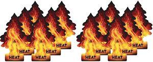 12 Pack Heat Little Trees Car Air Freshener