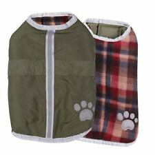 Nor'easter Warm Water Resistant Dog Blanket Coat S/M Green NWT * Free Shipping *