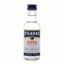Ouzo Pilavas Nektar Miniatur 50ml 40%