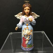 Jim Shore Heartwood Creek 2018 Pint Size Angel with Nativity 6001493