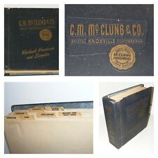 VTG '60s CM McClung Hardware Mid-Century Catalog 1800+Pg BOKER/COSCO+ Primitives