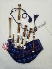 Great Scottish Highland Bagpipe Ready to Play Free Tutor Book Practice Chanter