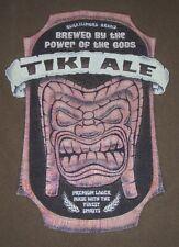 Vintage Kuka'ilimoku Tiki Ale Maui Hawaii T Shirt XXL