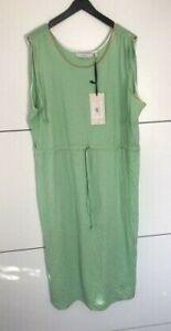 Numph Courtney Jersey Dress / Green Size 16 New Free P&P UK Seller