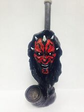 Darth Maul Vader Star Wars Tobacco Pipe One of a Kind Ceramic Glass Alternative!